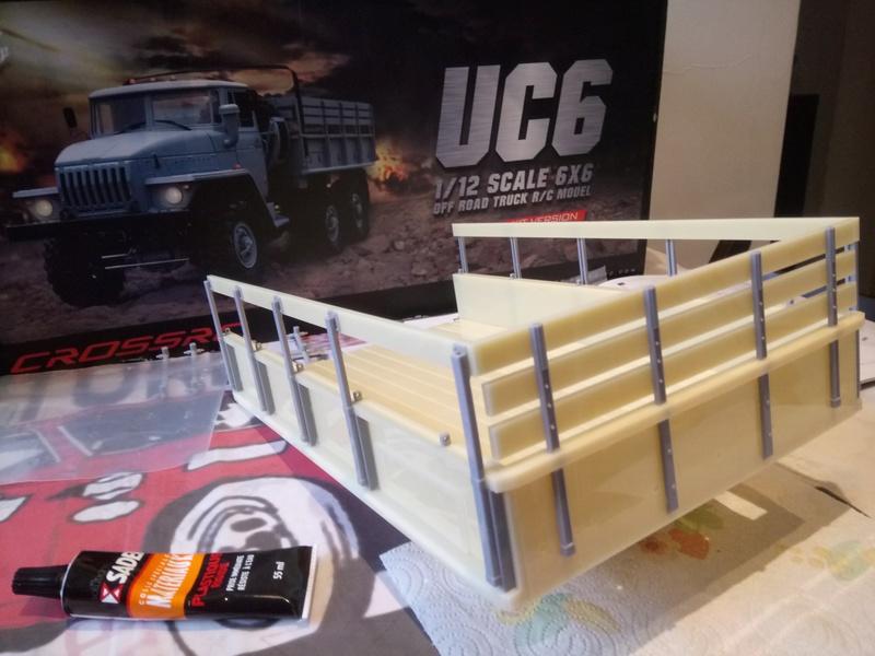 Ural uc6 4320 camión 🚛 scale 1/12 6x6, Cross RC  - Page 2 Dsc_1534