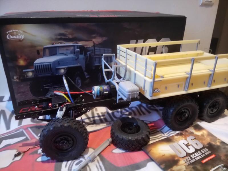 Ural uc6 4320 camión 🚛 scale 1/12 6x6, Cross RC  - Page 2 Dsc_1536