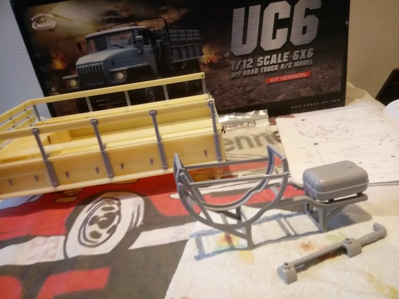 Ural uc6 4320 camión 🚛 scale 1/12 6x6, Cross RC  - Page 2 Dsc_1543