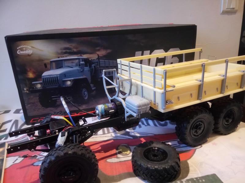 Ural uc6 4320 camión 🚛 scale 1/12 6x6, Cross RC  - Page 2 Dsc_1548