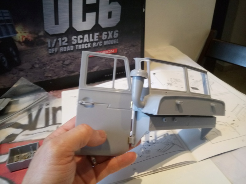 Ural uc6 4320 camión 🚛 scale 1/12 6x6, Cross RC  - Page 2 Dsc_1553