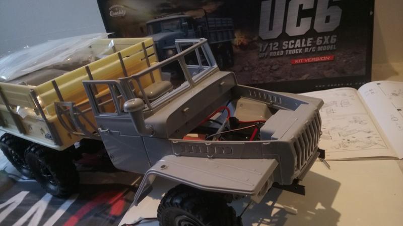 Ural uc6 4320 camión 🚛 scale 1/12 6x6, Cross RC  - Page 2 Dsc_1558