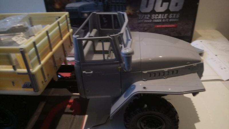 Ural uc6 4320 camión 🚛 scale 1/12 6x6, Cross RC  - Page 2 Dsc_1560