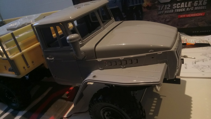 Ural uc6 4320 camión 🚛 scale 1/12 6x6, Cross RC  - Page 2 Dsc_1561