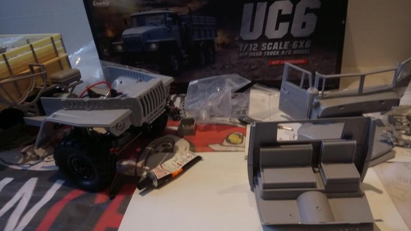 Ural uc6 4320 camión 🚛 scale 1/12 6x6, Cross RC  - Page 2 Dsc_1611