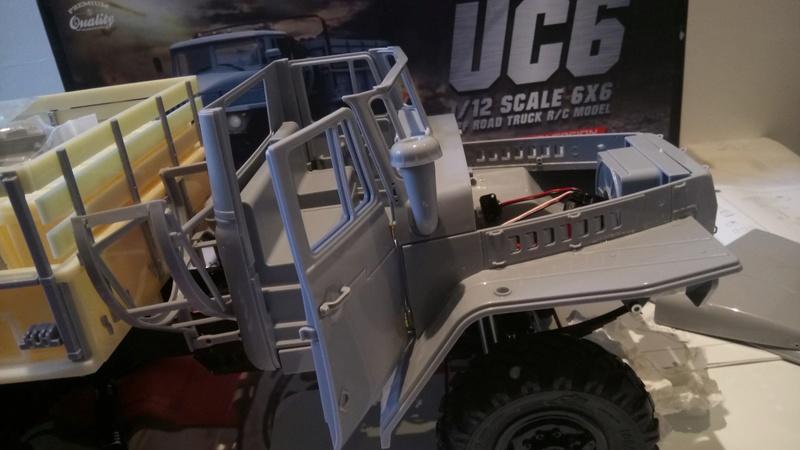 Ural uc6 4320 camión 🚛 scale 1/12 6x6, Cross RC  - Page 2 Dsc_1612
