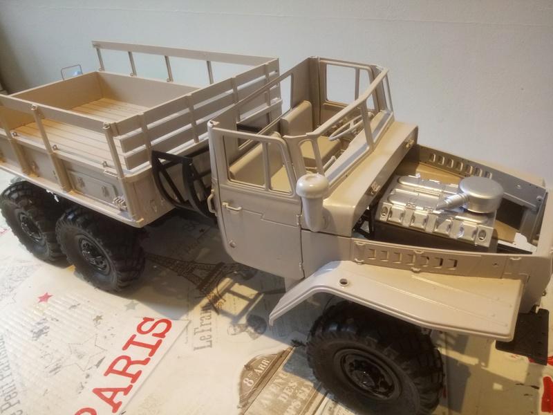 Ural uc6 4320 camión 🚛 scale 1/12 6x6, Cross RC  - Page 3 Dsc_1653