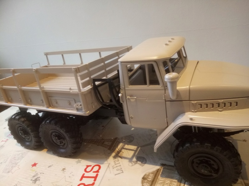 Ural uc6 4320 camión 🚛 scale 1/12 6x6, Cross RC  - Page 3 Dsc_1655