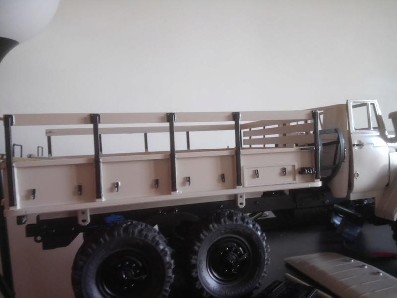 Ural uc6 4320 camión 🚛 scale 1/12 6x6, Cross RC  - Page 3 Dsc_1656
