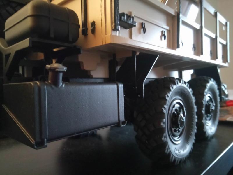 Ural uc6 4320 camión 🚛 scale 1/12 6x6, Cross RC  - Page 3 Dsc_1670