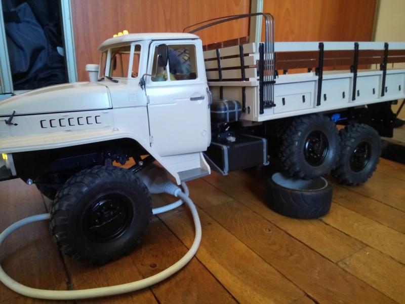 Ural uc6 4320 camión 🚛 scale 1/12 6x6, Cross RC  - Page 3 Dsc_1719