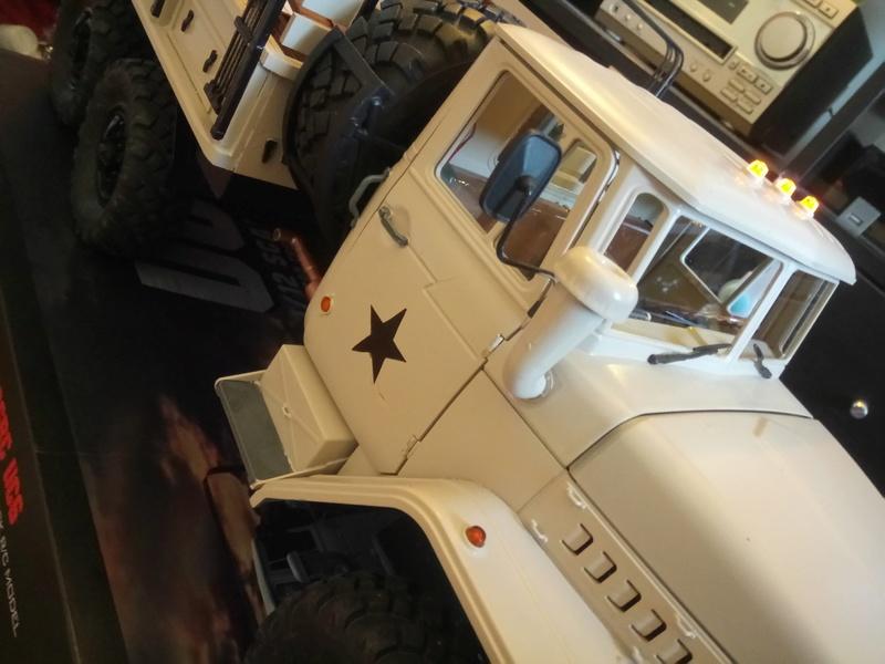 Ural uc6 4320 camión 🚛 scale 1/12 6x6, Cross RC  - Page 4 Dsc_1741
