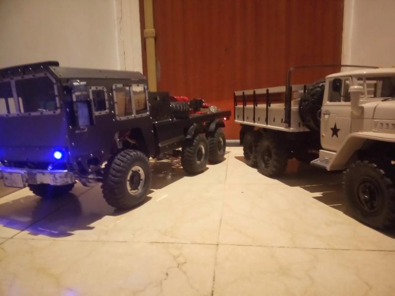 Ural uc6 4320 camión 🚛 scale 1/12 6x6, Cross RC  - Page 4 Dsc_1743