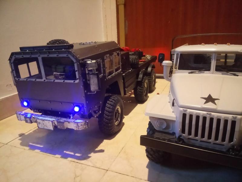 Ural uc6 4320 camión 🚛 scale 1/12 6x6, Cross RC  - Page 4 Dsc_1744