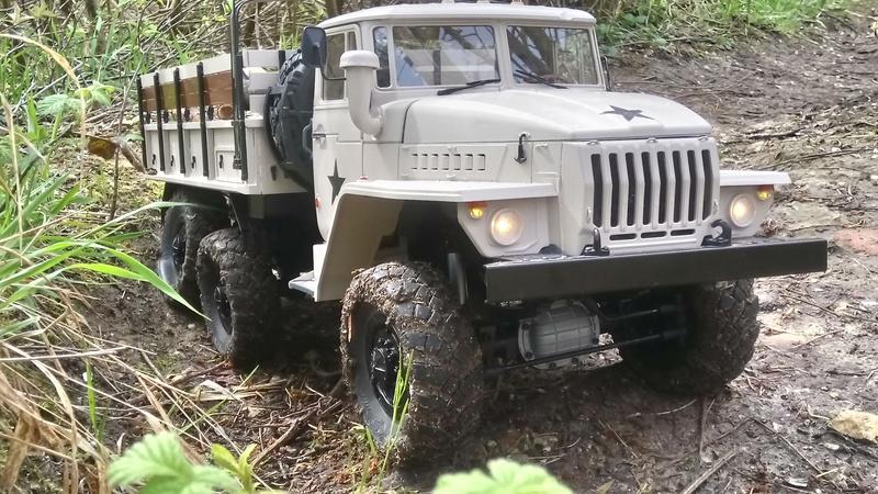 Ural uc6 4320 camión 🚛 scale 1/12 6x6, Cross RC  - Page 4 Dsc_4781