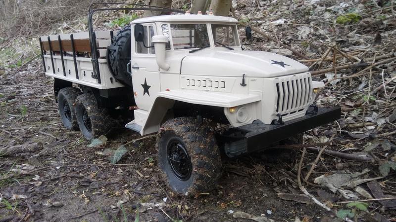 Ural uc6 4320 camión 🚛 scale 1/12 6x6, Cross RC  - Page 4 Dsc_4783