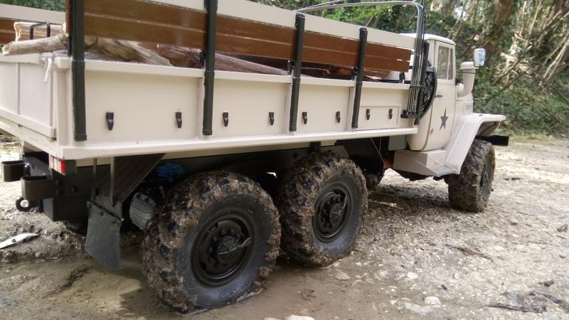 Ural uc6 4320 camión 🚛 scale 1/12 6x6, Cross RC  - Page 4 Dsc_4784