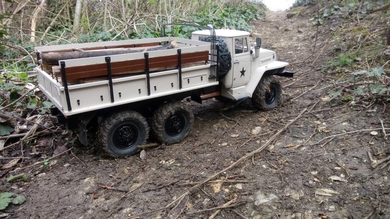 Ural uc6 4320 camión 🚛 scale 1/12 6x6, Cross RC  - Page 4 Dsc_4792