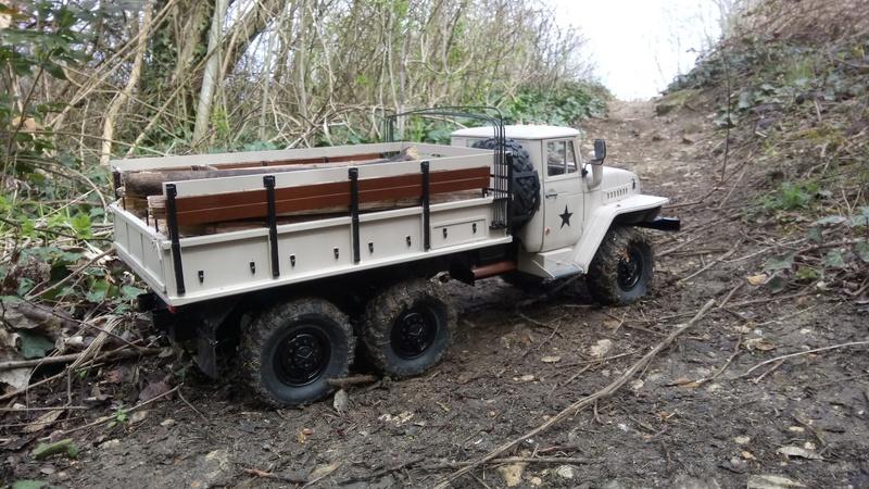 Ural uc6 4320 camión 🚛 scale 1/12 6x6, Cross RC  - Page 4 Dsc_4795
