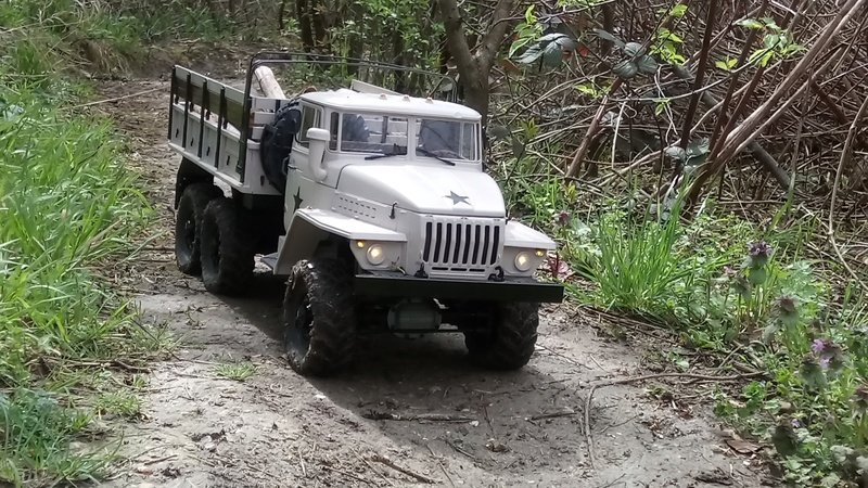 Ural uc6 4320 camión 🚛 scale 1/12 6x6, Cross RC  - Page 4 Dsc_4797