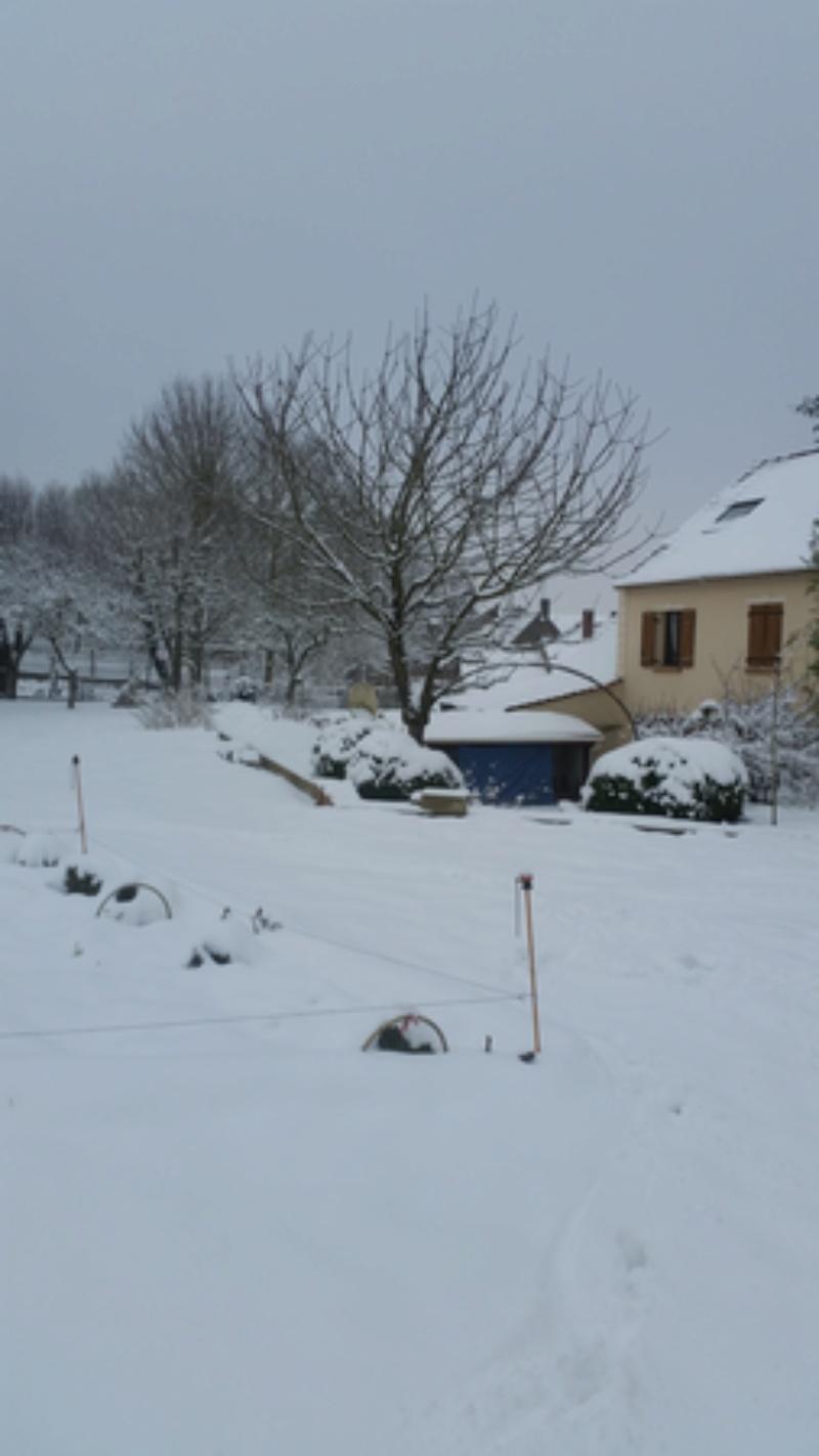 Après la pluie, la neige ! 20180219