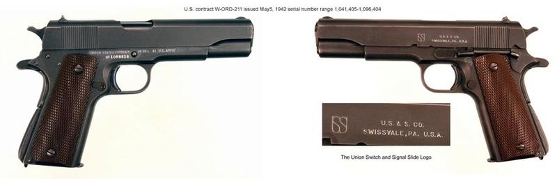 1911A1 US&S - UNION SWITCH & SIGNAL - Caractéristiques - Page 2 1911us11