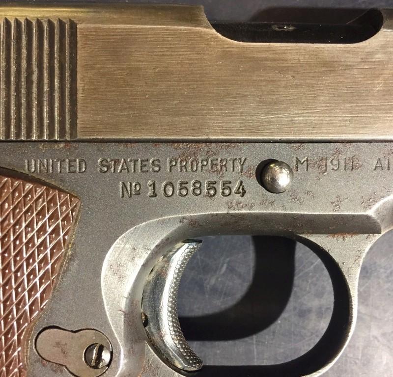 1911A1 US&S - UNION SWITCH & SIGNAL - Caractéristiques E0788d10