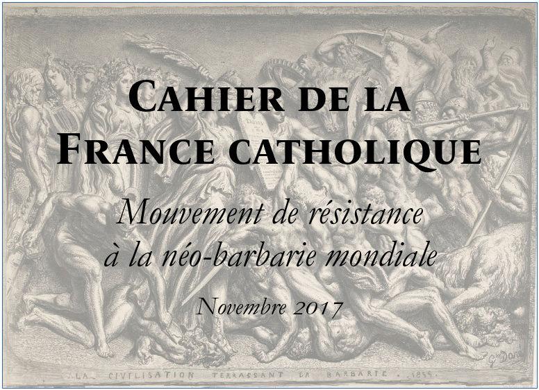 Cahier de la France catholique – novembre 2017 Cahier10