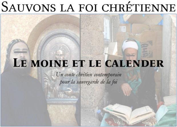 Sauvons la foi chrétienne : le moine et le calender Sauvon10