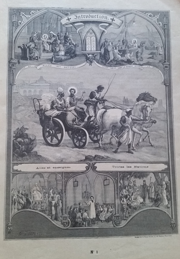 Catéchisme en images du père Vincent Paul Bailly – Tableau 1 Tablea10
