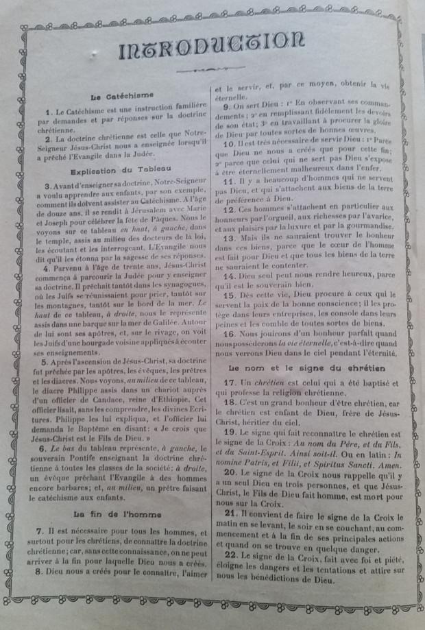 Catéchisme en images du père Vincent Paul Bailly – Tableau 1 Tablea11