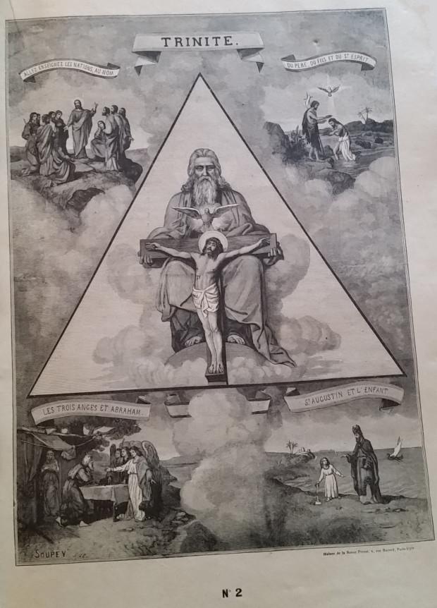 Catéchisme en images du père Vincent Paul Bailly – Tableau 2 Tablea12