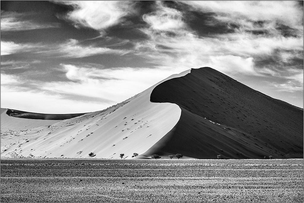 [Paysages] Dunes noir et blanc 00000744