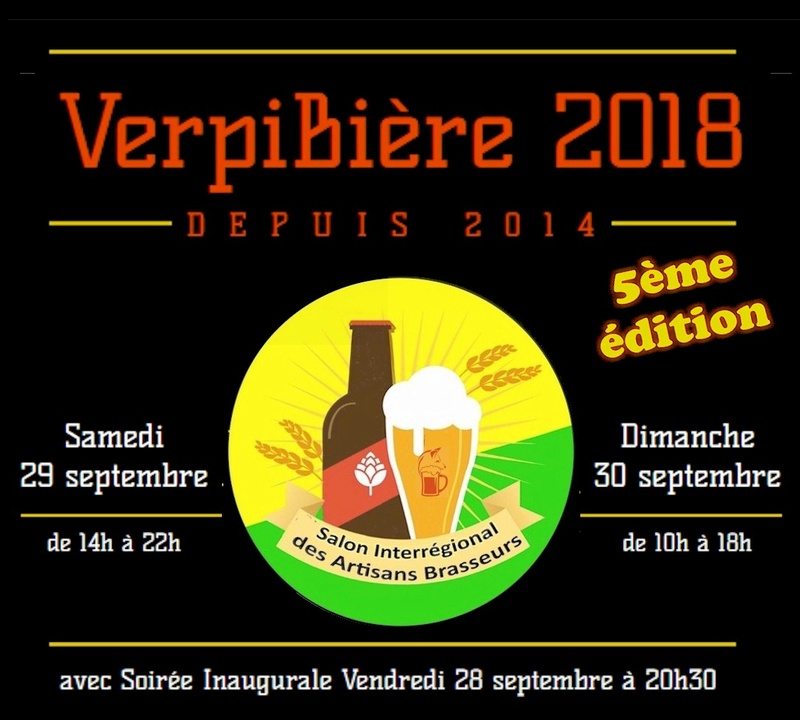 VerpiBière N°5 : 29 & 30 sept 2018 (la Verpillière - 38) Logo11