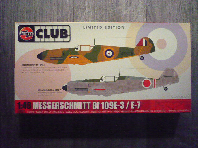 BF-109 E3 I/JG-76 airfix 1/48e P1140254