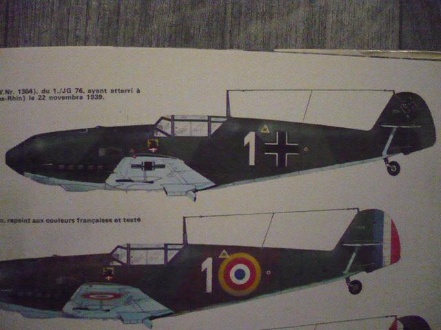 BF-109 E3 I/JG-76 airfix 1/48e P1140314