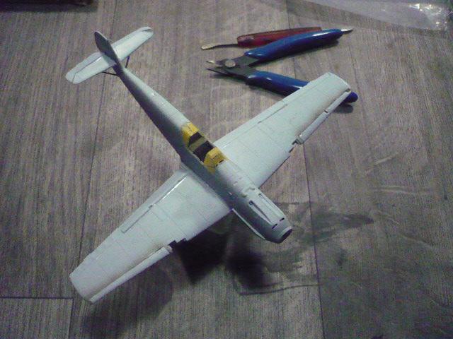 BF-109 E3 I/JG-76 airfix 1/48e P1140320