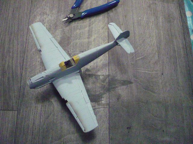 BF-109 E3 I/JG-76 airfix 1/48e P1140321