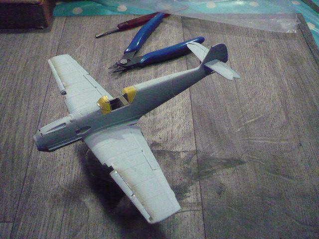 BF-109 E3 I/JG-76 airfix 1/48e P1140322