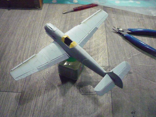 BF-109 E3 I/JG-76 airfix 1/48e P1140323