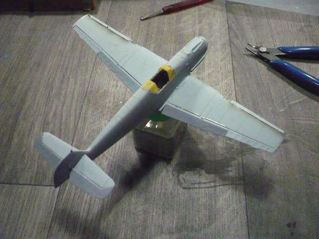 BF-109 E3 I/JG-76 airfix 1/48e P1140324