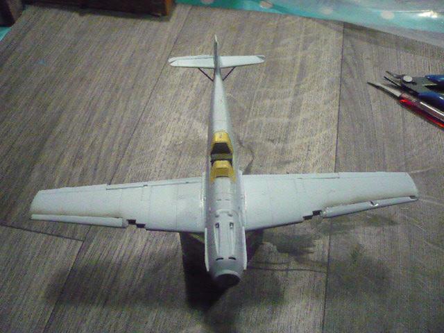 BF-109 E3 I/JG-76 airfix 1/48e P1140325