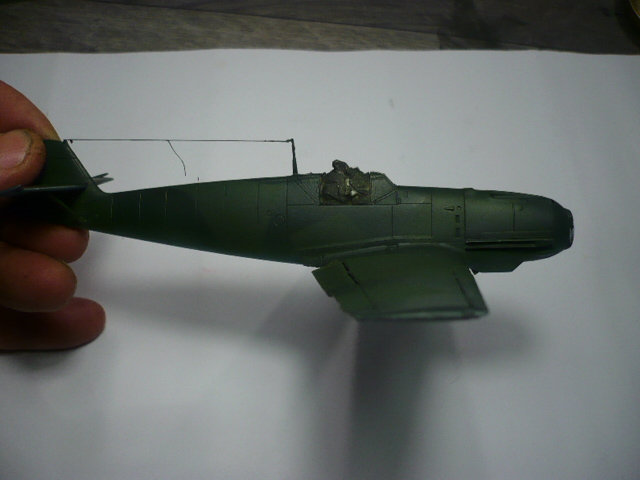 BF-109 E3 I/JG-76 airfix 1/48e P1140331