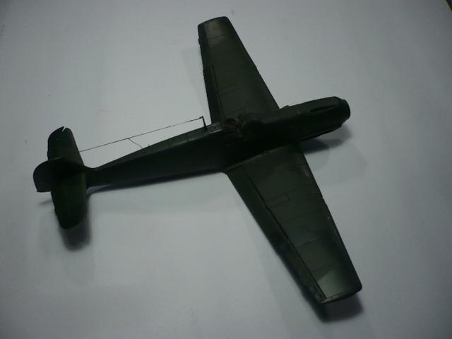 BF-109 E3 I/JG-76 airfix 1/48e P1140332