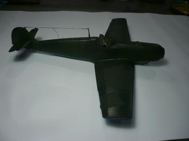 BF-109 E3 I/JG-76 airfix 1/48e P1140333