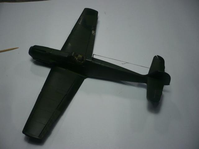 BF-109 E3 I/JG-76 airfix 1/48e P1140334