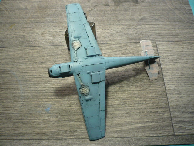 BF-109 E3 I/JG-76 airfix 1/48e P1140335