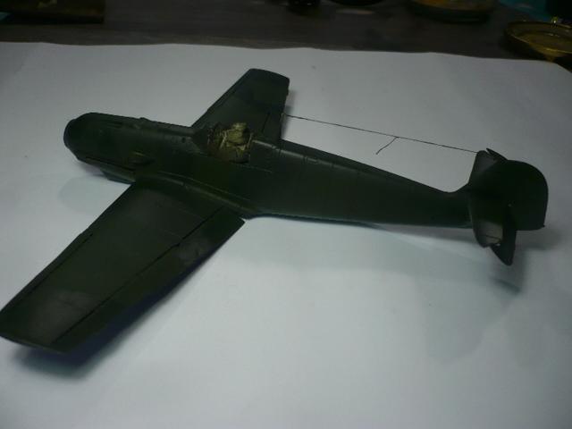 BF-109 E3 I/JG-76 airfix 1/48e P1140336