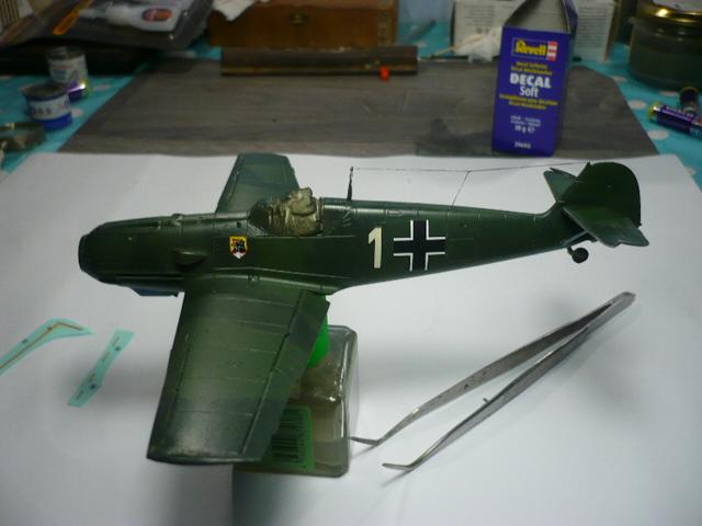 BF-109 E3 I/JG-76 airfix 1/48e P1140337