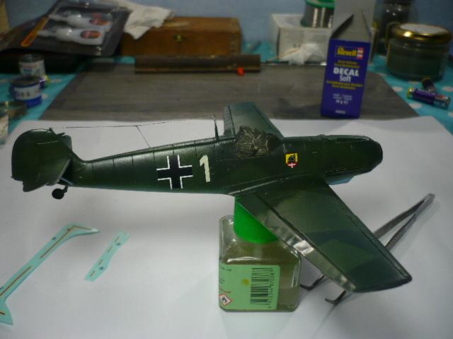 BF-109 E3 I/JG-76 airfix 1/48e P1140338